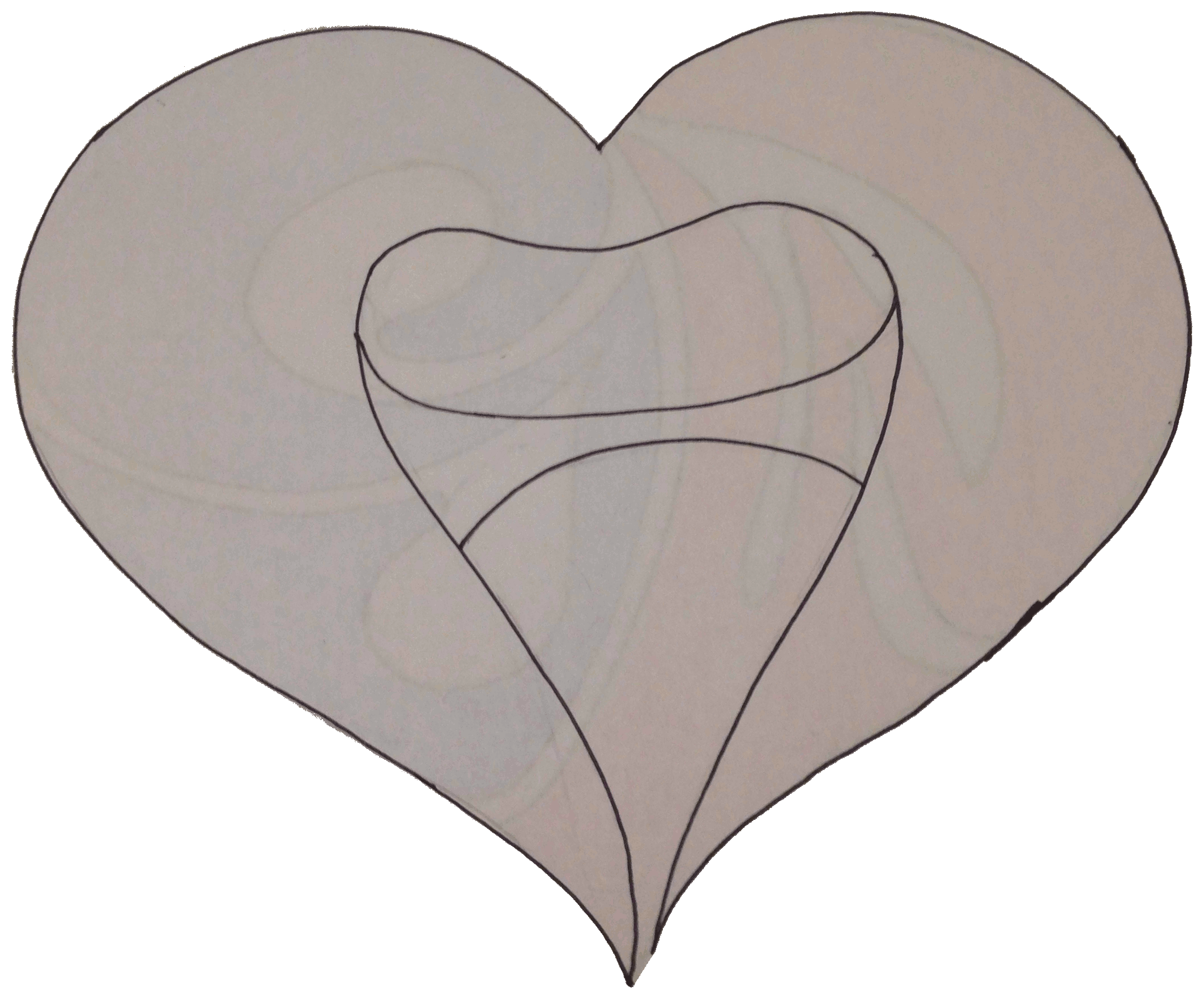 Line Art Love Heart : A heart word pictures by skh